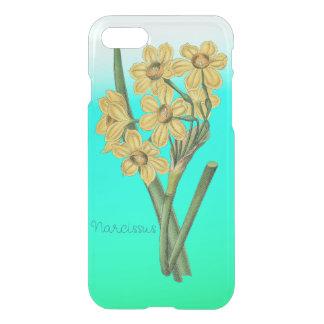 Blumen-gelbe Narzissen-Vintager Blumenstrauß iPhone 8/7 Hülle