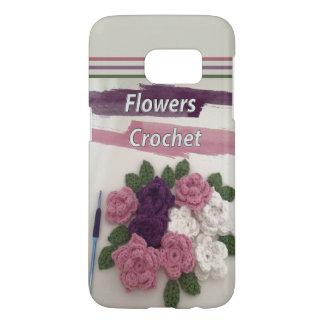 Blumen-Häkelarbeit