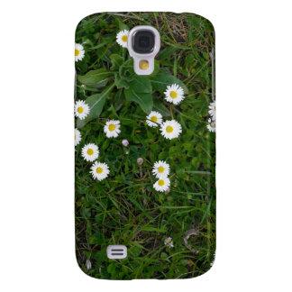Blumen im Gras Galaxy S4 Hülle
