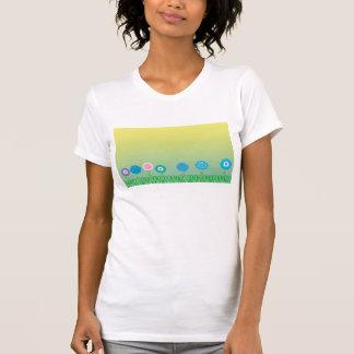 Blumen im TagesShirt T-Shirt