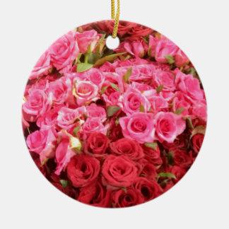 Blumen in den Philippinen, im Rosa und in den Keramik Ornament