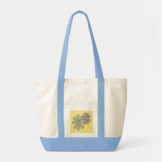 Blumen in der Liebe Einkaufstasche