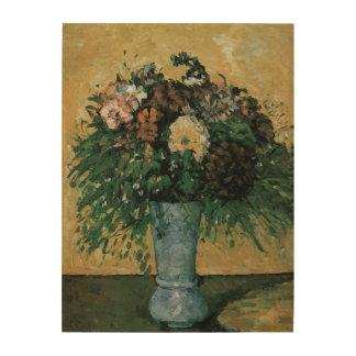 Blumen in einem blauen Vase durch Vintage Kunst