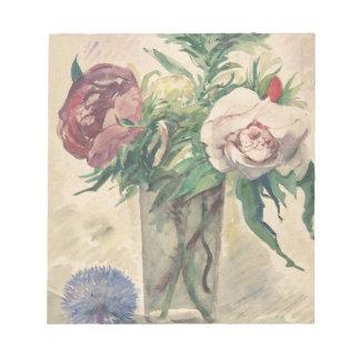 Blumen in einem Vase - Zacharie Astruc Notizblock