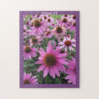 Blumen in Stowe Vermont Puzzle