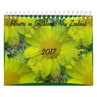 Blumen in Süden Kalender