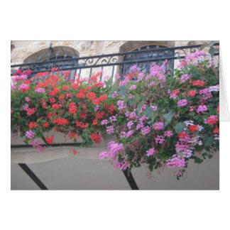 Blumen in Yemin Moshe Karte