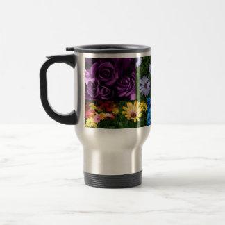 Blumen-Kaffeereise Tasse