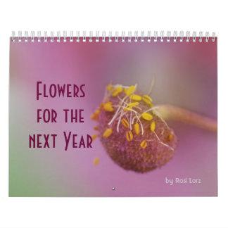 Blumen-Kalender Abreißkalender