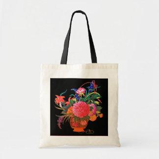 Blumen-Korb Budget Stoffbeutel