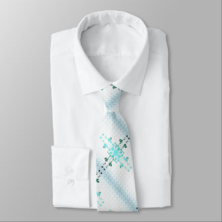 Blumen-Kreuz Personalisierte Krawatten