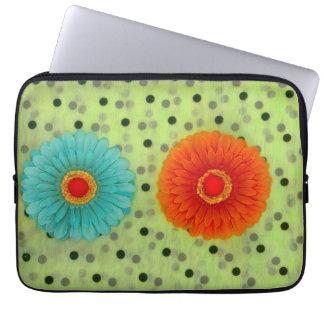 Blumen Laptopschutzhülle