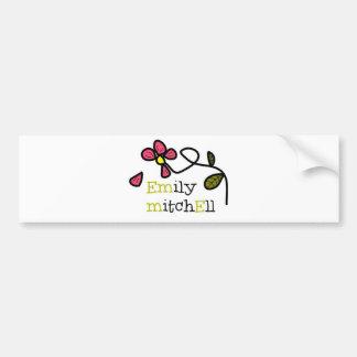 Blumen-Logo Emilys Mitchell Autoaufkleber