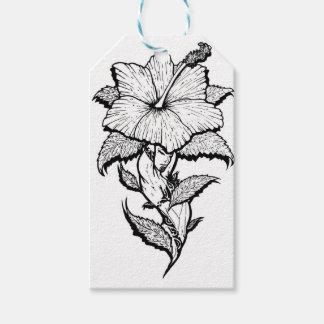 Blumen-Mädchen Geschenkanhänger