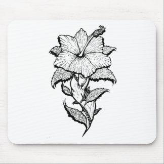 Blumen-Mädchen Mousepads