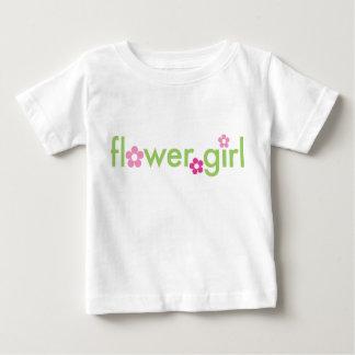 Blumen-Mädchen - Säuglings-T - Shirt