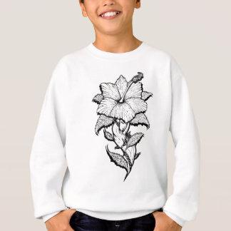 Blumen-Mädchen Sweatshirt