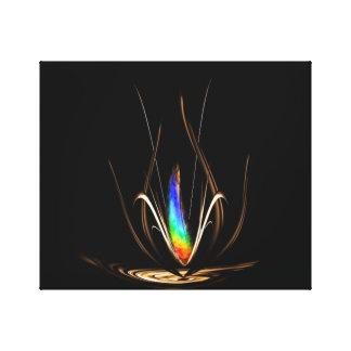 Blumen - Magie 2 Leinwanddruck