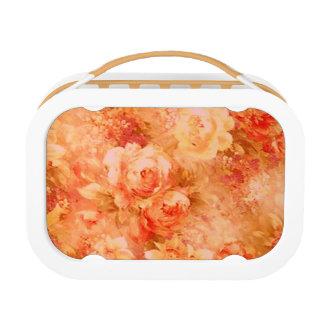 Blumen-Malerei-Mittagessen-Kasten Brotdose