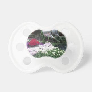 BLUMEN Marienkäfer-Schmetterlings-Garten-Sieger Schnuller