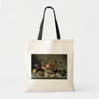 Blumen, Muscheln und Insects Balthasar van Der Ast Einkaufstaschen