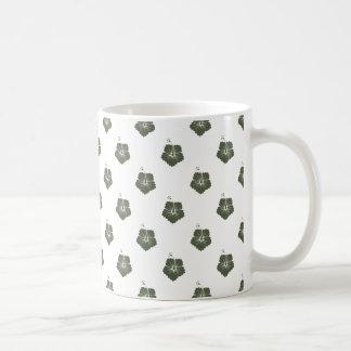 Blumen-Muster 3 Zypresse Kaffeetasse