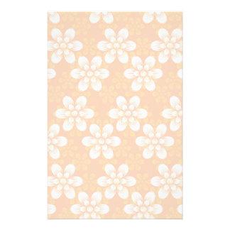 Blumen-Muster Büropapier