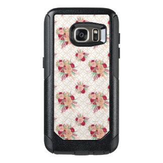 Blumen-Muster OtterBox Samsung Galaxy S7 Hülle