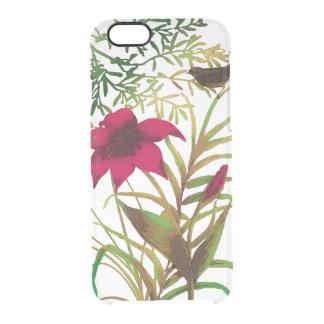 Blumen n Sachen Durchsichtige iPhone 6/6S Hülle