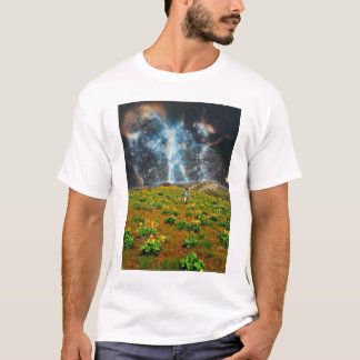 Blumen-Nebelfleck T-Shirt