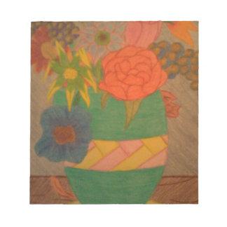 Blumen Notizblock