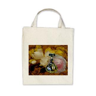 Blumen-Parfüm-Rosen-Magnolien-Collagen-Taschen-Tas