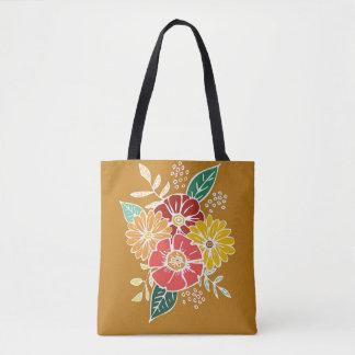 Blumen-Power #9 Tasche