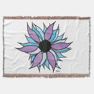 Blumen-Power Decke