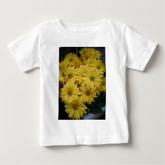 Blumen-Power-Gelb! Baby T-shirt