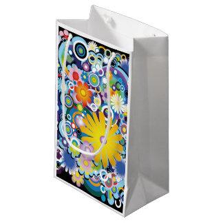 Blumen-Power-Geschenk-Tasche Kleine Geschenktüte