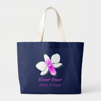 Blumen-Power Jumbo Stoffbeutel
