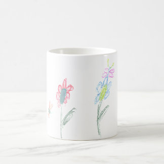 Blumen-Power Kaffeetasse