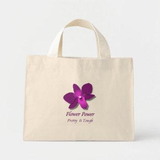 Blumen-Power Mini Stoffbeutel