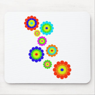 Blumen-Power Mousepad