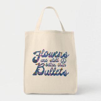 Blumen-Power Tragetasche