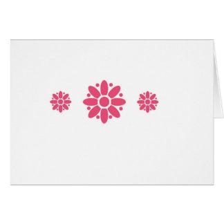 Blumen-Powergrußkarte Mitteilungskarte