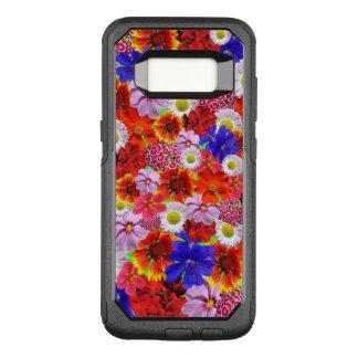 Blumen reichlich, Lose verschiedene bunte Blumen OtterBox Commuter Samsung Galaxy S8 Hülle
