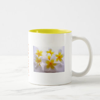 Blumen-Reihe Zweifarbige Tasse