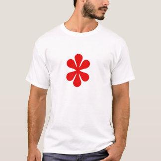 Blumen-Rot T-Shirt