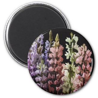 Blumen Runder Magnet 5,7 Cm