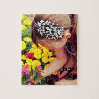 Blumen-Sammeln Puzzle