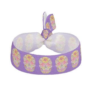 Blumen-Schädel 4 - tropisch Haarschleifen