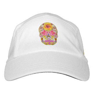 Blumen-Schädel 4 - tropisch Headsweats Kappe