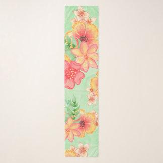 Blumen Schal